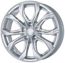Колесный диск Alutec 9x20 5x127 71.6 ET52 Alutec W10 Polar Silver  9x20 5x127 DIA71.6  ET52 0