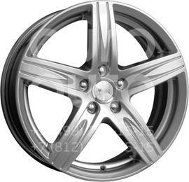 Колесный диск КиК Андорра блэк платинум  6.5x16 5x112 DIA66.6  ET50 литой
