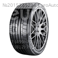 Шина Continental SportContact 6 40/255 R19 100 (Y)