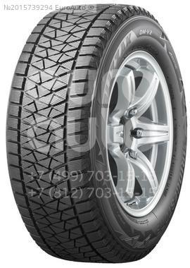 Шина Bridgestone Blizzak DM-V2 235/65 R18 106 S