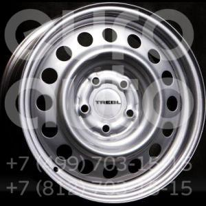 Колесный диск Trebl 6x15 5x139.7 98.6 ET48  TREBL 64G48L Silver  6x15 5x139.69999999999999 DIA98.6  ET48 0