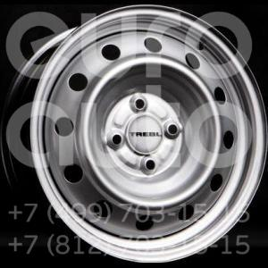 Колесный диск Trebl 5.5x14 4x100 60.1 ET43  TREBL 53А43С Silver  5.5x14 4x100 DIA60.1  ET43 0