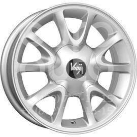 Колесный диск КиК КС579 сильвер  5.5x14 4x98 DIA58.5  ET35 литой