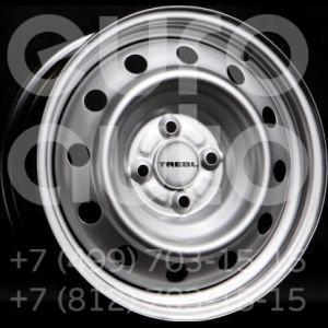Колесный диск Trebl 5.5x14 4x108 63.3 ET37.5 Trebl 6355 Silver  5.5x14 4x108 DIA63.3  ET37 0