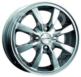 Колесный диск КиК Авион-Дэу блэк платинум  5.5x14 4x100 DIA56.6  ET49 литой