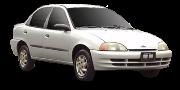 Chevrolet Metro (MR226) 1998-2001
