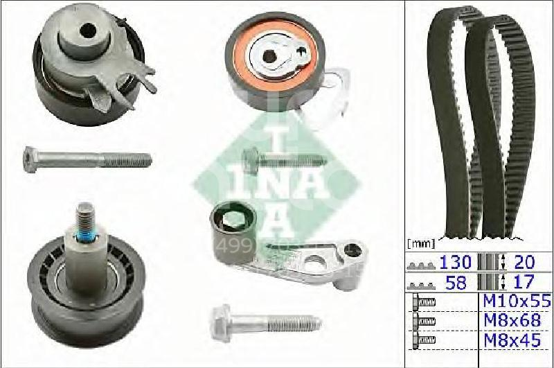 Купить К-кт ремня ГРМ Audi A2 [8Z0] 2000-2005; (530036010)