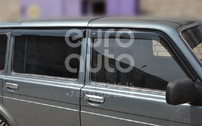 К-кт ветровиков (дефлекторы) бокового стекла для VAZ NIVA -2121 - Фото №1