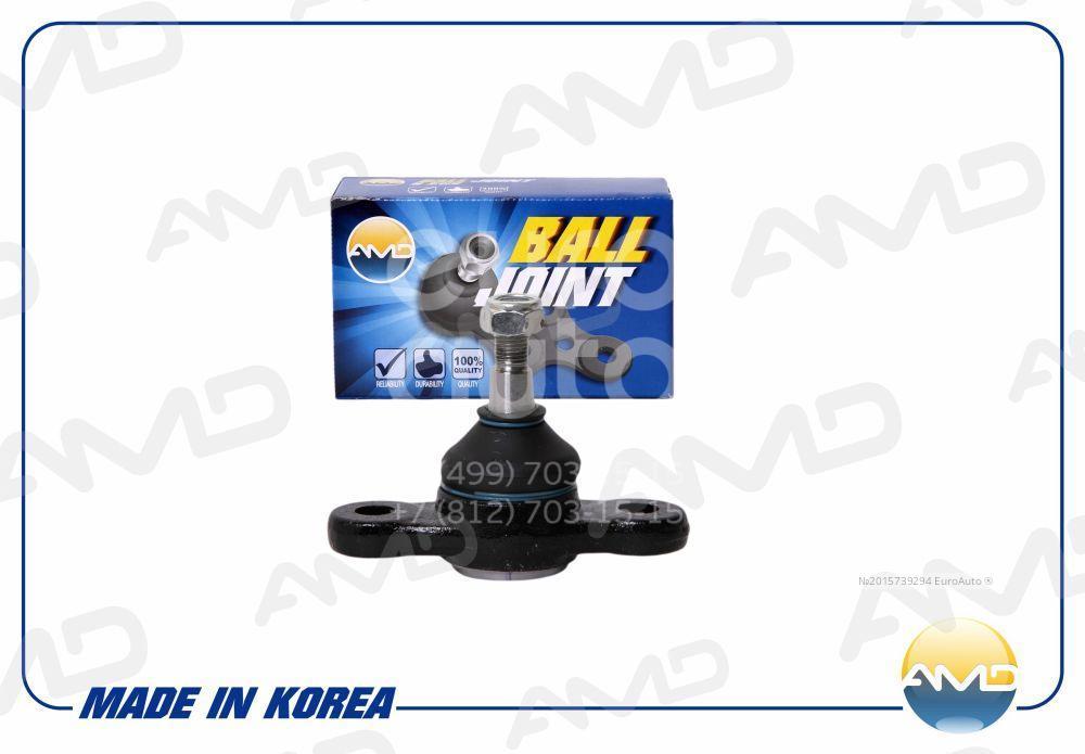 Купить Опора шаровая нижняя передней подвески Hyundai Tucson 2004-2010; (AMD.BJ132)