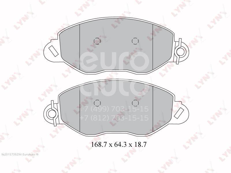 Купить Колодки тормозные передние к-кт Ford Transit [FA] 2000-2006; (BD-3032)