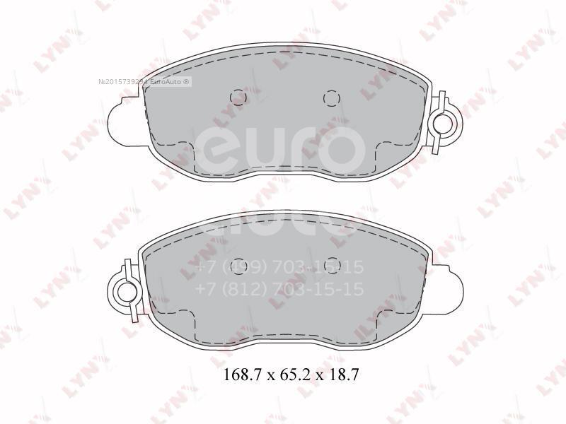 Купить Колодки тормозные передние к-кт Ford Transit [FA] 2000-2006; (BD-3033)