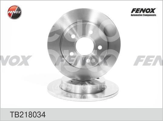 Диск тормозной задний Ford Focus II 2005-2008; (TB218034)  - купить со скидкой