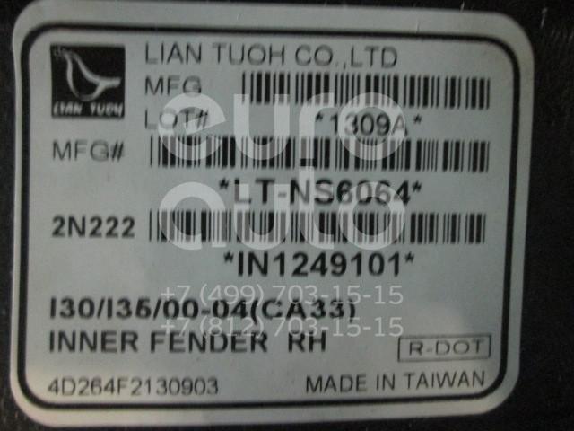 Купить Локер передний правый Nissan Maxima (A33) 2000-2005; (IN320016L-0R00)