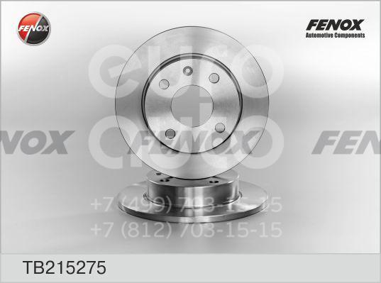 Купить Диск тормозной передний не вентилируемый Ford Escort/Orion 1990-1995; (TB215275)