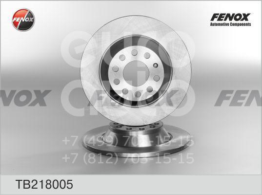 Купить Диск тормозной задний Audi A6 [C6, 4F] 2004-2011; (TB218005)