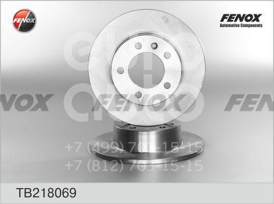 Диск тормозной задний Opel Movano 1998-2010; (TB218069)  - купить со скидкой