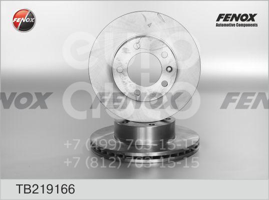 Купить Диск тормозной передний вентилируемый Opel Movano 1998-2010; (TB219166)
