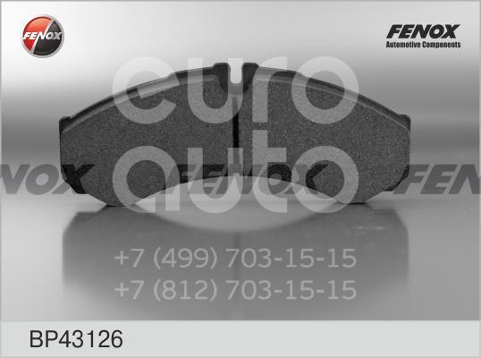 Колодки тормозные передние к-кт Iveco Daily 1990-1999; (BP43126)