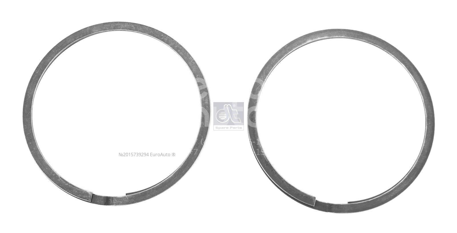 Кольцо уплотнит. вып. коллектора для MAN TGM 2006> - Фото №1