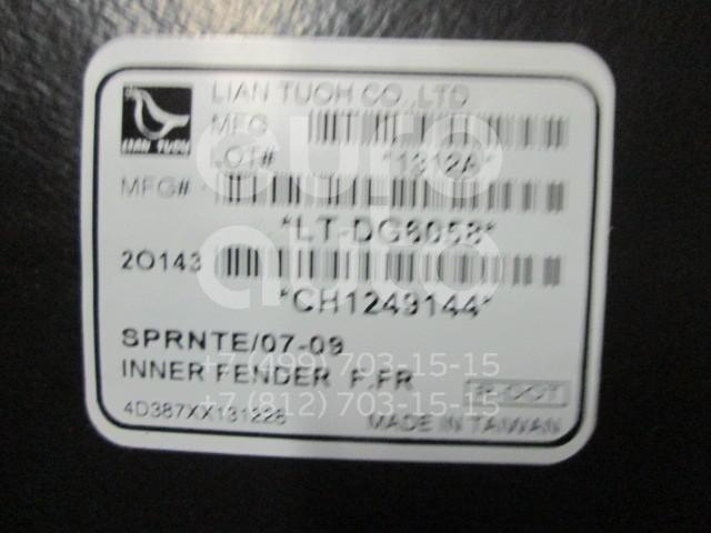 Купить Локер передний правый передняя часть (сапожок) Mercedes Benz Sprinter (906) 2006-; (3547386)