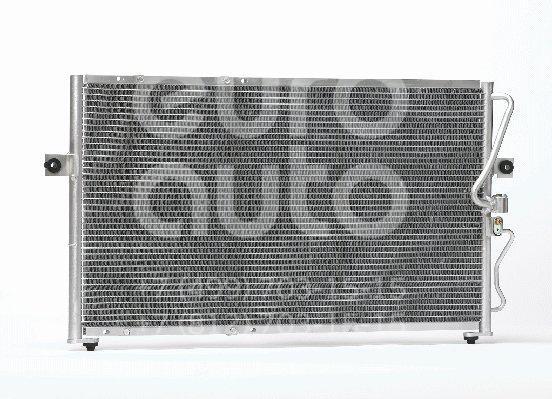 Радиатор кондиционера (конденсер) для Kia Carnival 1999-2005 - Фото №1