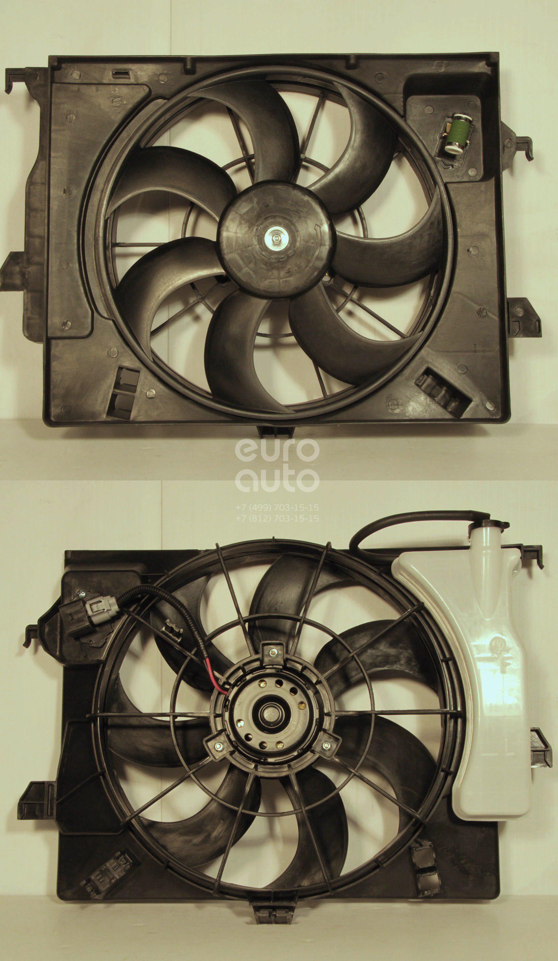 Вентилятор радиатора для Kia RIO 2011> - Фото №1