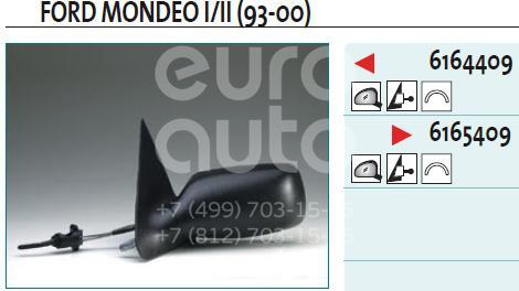 Зеркало левое механическое для Ford Mondeo II 1996-2000 - Фото №1