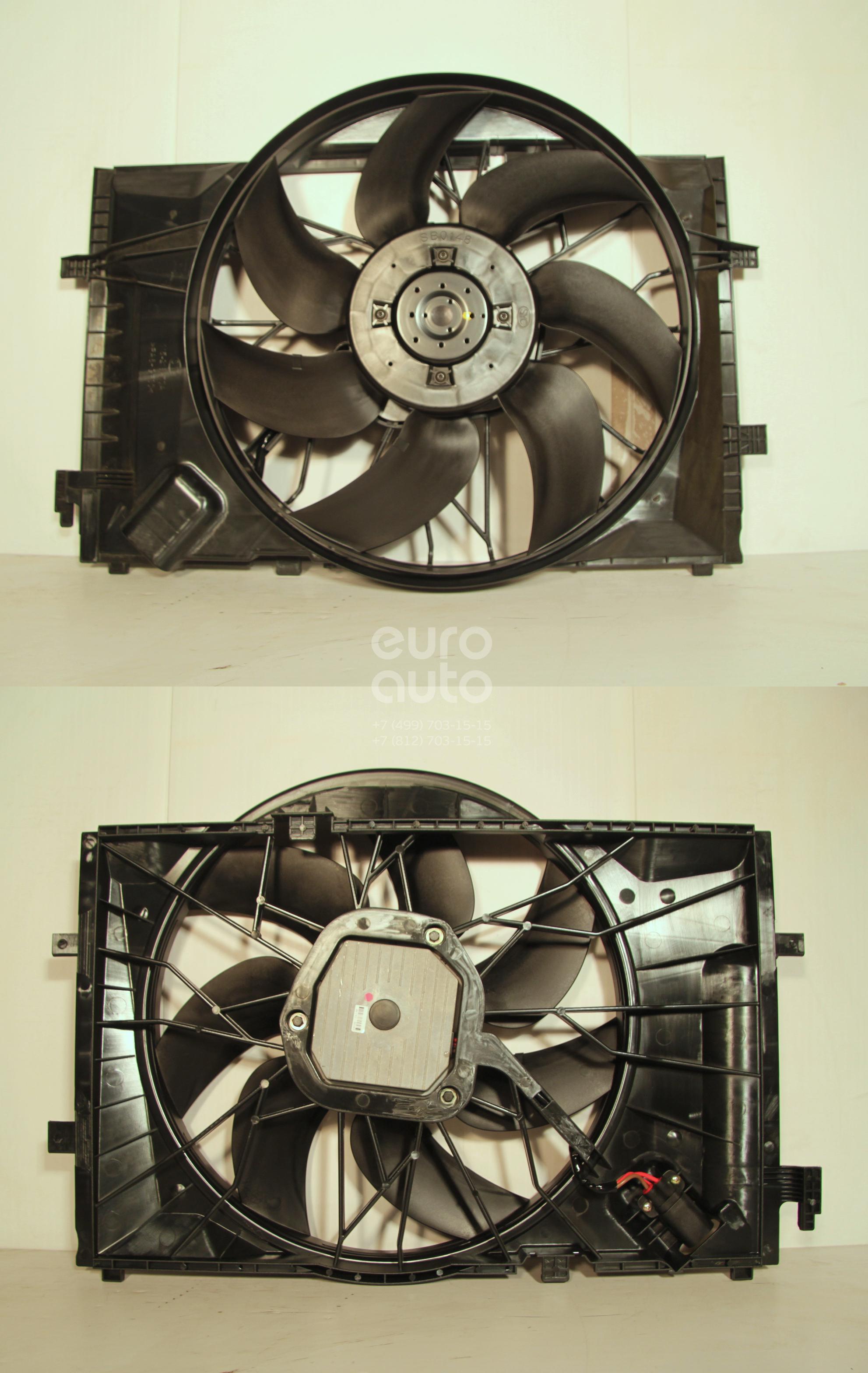 Вентилятор радиатора для Mercedes Benz C209 CLK coupe 2002-2010 - Фото №1