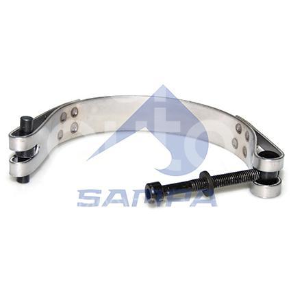 Купить Хомут глушителя Scania 4 P series 1995-2007; (041.254)
