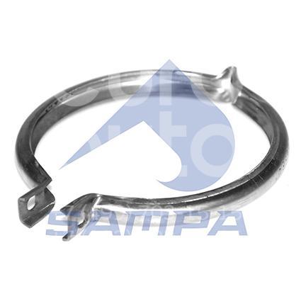 Купить Хомут глушителя DAF XF 2002-; (050.487)