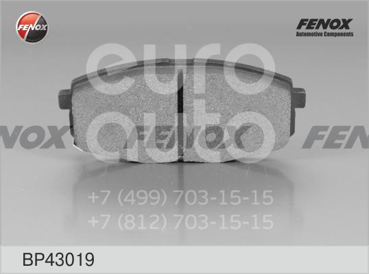 Купить Колодки тормозные передние к-кт Kia Ceed 2007-2012; (BP43019)