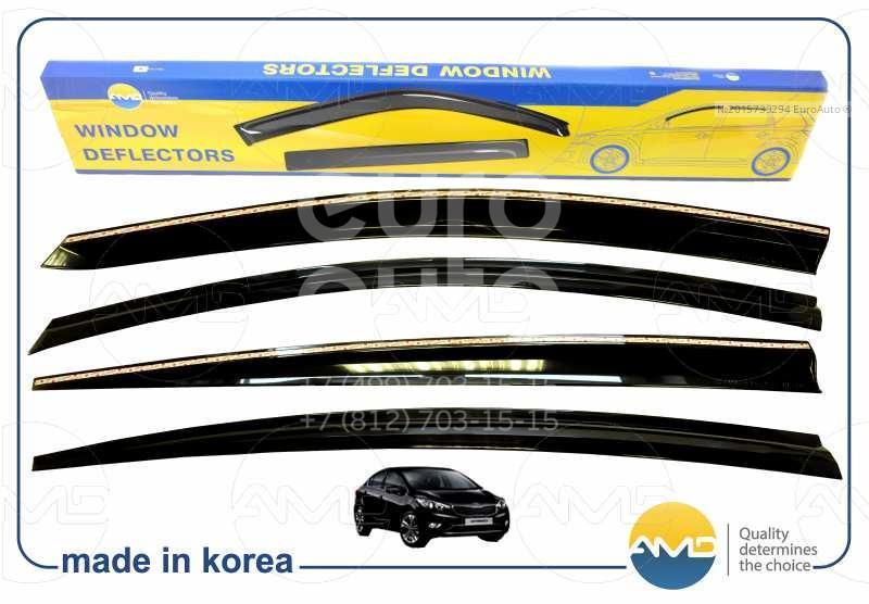 К-кт ветровиков (дефлекторы) бокового стекла для Kia Cerato 2013> - Фото №1