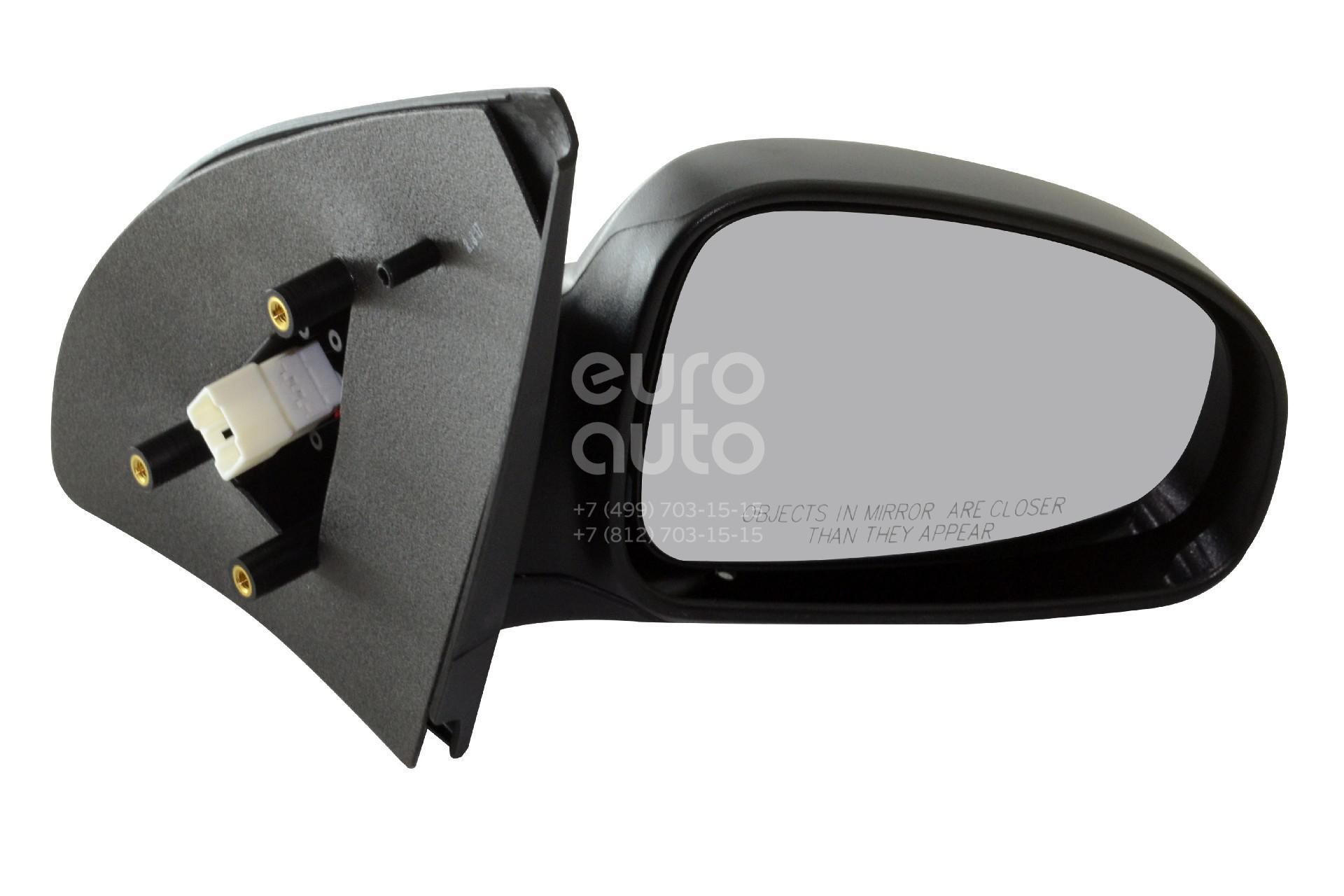 Зеркало правое электрическое для Chevrolet Aveo (T200) 2003-2008 - Фото №1