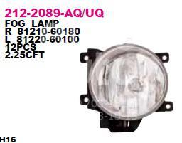 Фара противотуманная левая для Toyota RAV 4 2013> - Фото №1