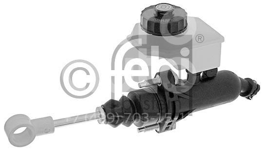 Купить Цилиндр сцепления главный Volvo TRUCK FH12 2000-2008; (45502)