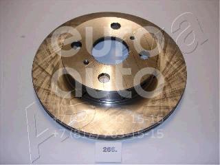 Диск тормозной передний вентилируемый для Toyota Corolla E10 1992-1997 - Фото №1
