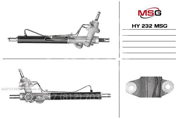 Купить Рейка рулевая Hyundai Solaris 2010-2017; (HY232)