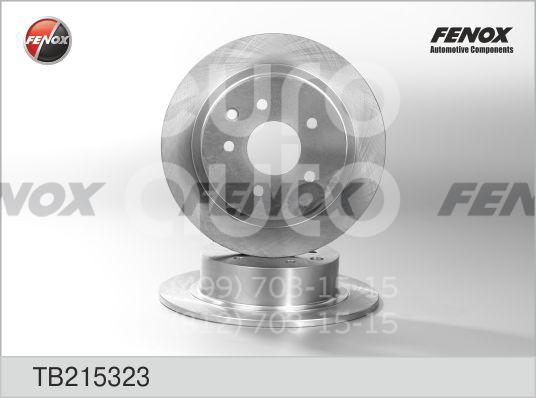 Купить Диск тормозной задний Nissan Teana J31 2006-2008; (TB215323)