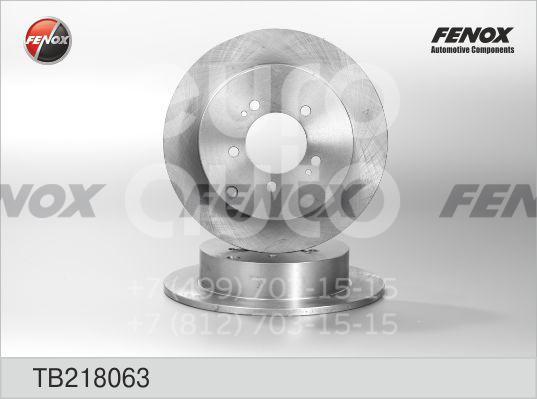 Диск тормозной задний Citroen C-Crosser 2008-2013; (TB218063)