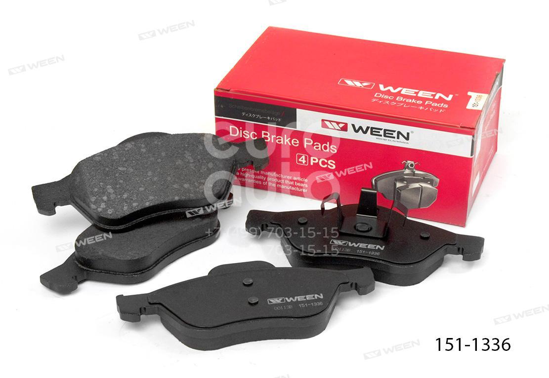 Купить Колодки тормозные передние к-кт Renault Megane II 2003-2009; (151-1336)