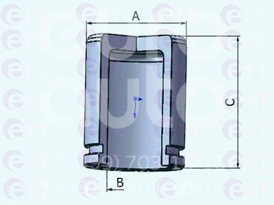 Поршень заднего суппорта для Subaru Forester (S12) 2008-2012 - Фото №1
