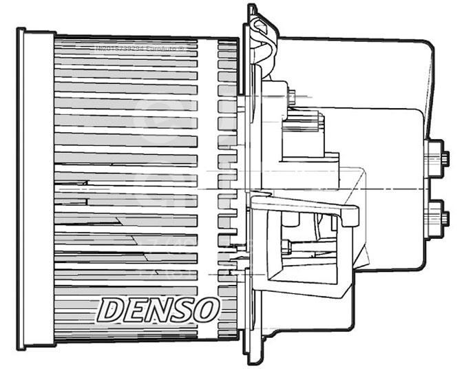 Моторчик отопителя для Fiat 500 2008> - Фото №1