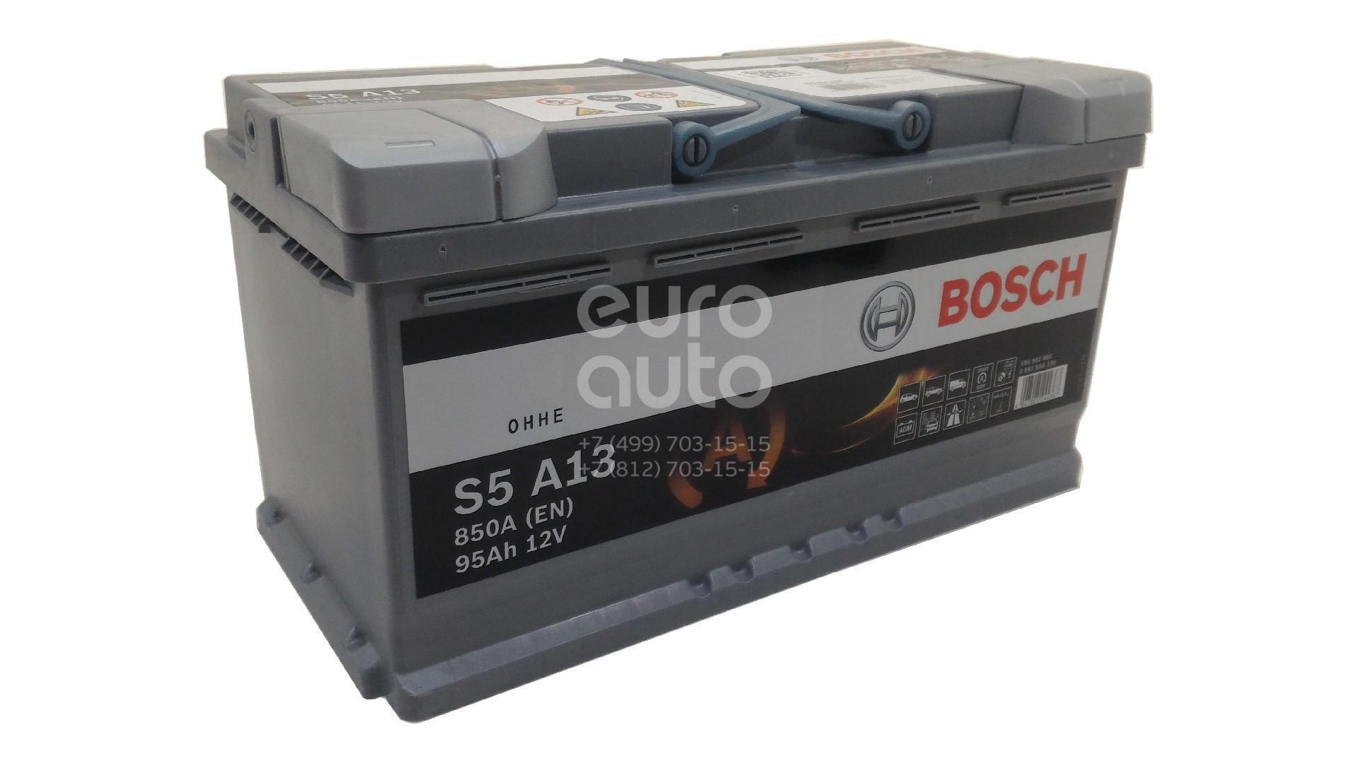 Аккумулятор для Audi A4 [B8] 2007-2015 - Фото №1