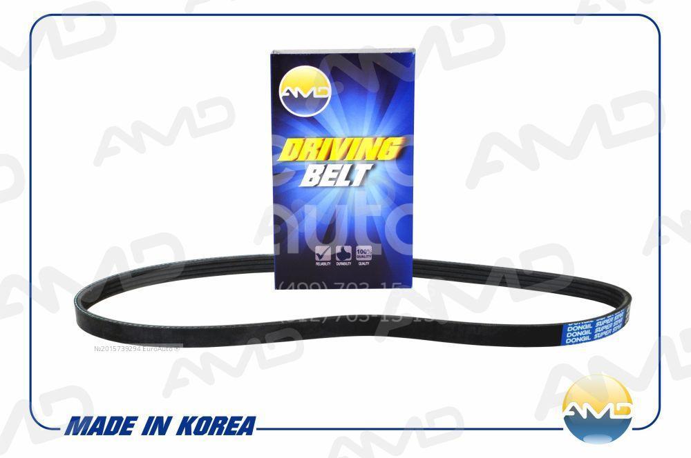Ремень ручейковый для Nissan Micra (K12E) 2002-2010 - Фото №1