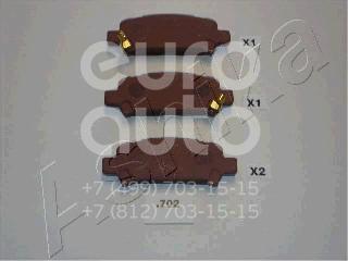 Купить Колодки тормозные задние дисковые к-кт Subaru Impreza (G10) 1993-1996; (51-07-702)