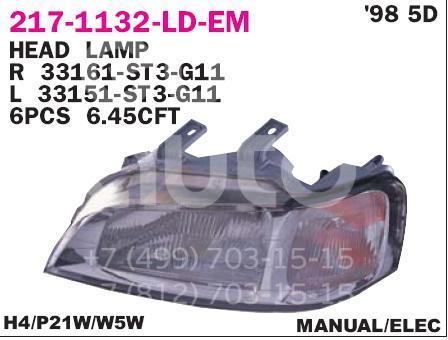 Купить Фара левая Honda Civic (MA, MB 5HB) 1995-2001; (217-1132L-LD-EM)