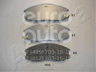 Купить Колодки тормозные передние к-кт Kia Sorento 2002-2009; (50-H0-005)