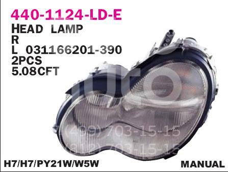 Купить Фара правая Mercedes Benz W203 2000-2006; (440-1124R-LD-E)