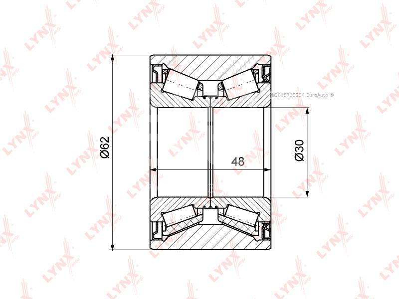 Купить Подшипник задней ступицы Renault Espace IV 2002-2014; (WB-1318)
