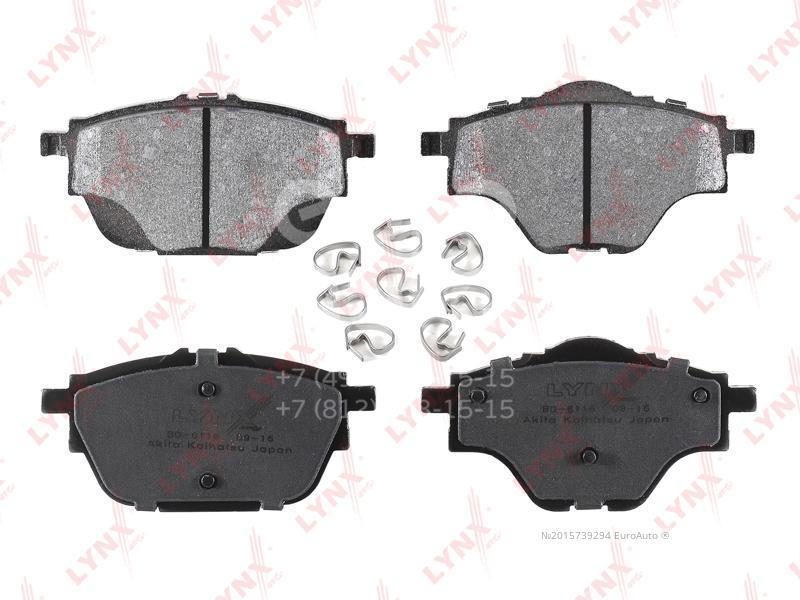 Купить Колодки тормозные задние дисковые к-кт Citroen C4 II 2011-; (BD-6116)